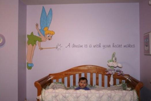 16 originelle Ideen für auffallende Kinderzimmer-Wanddekorationen