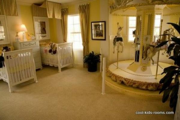 babyzimmer zwillinge karussell - Babyzimmer Luxus
