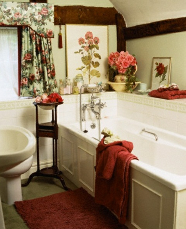 badezimmer design mit blumen und pflanzen originelle fr hlingsideen. Black Bedroom Furniture Sets. Home Design Ideas