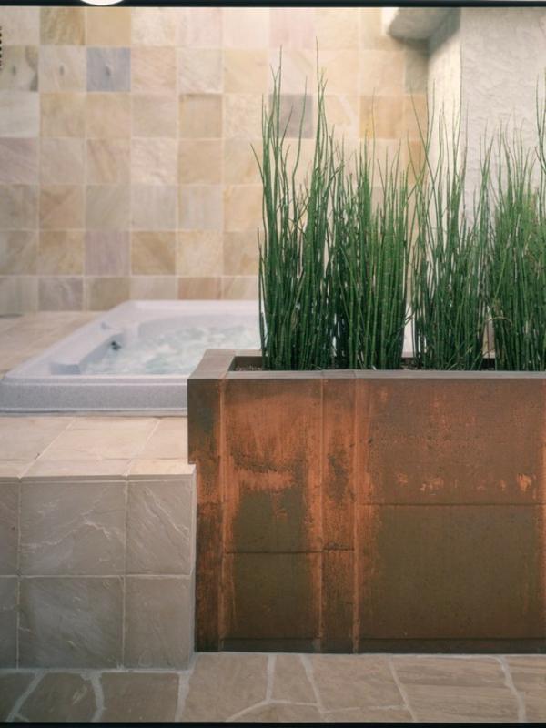 Badezimmer design mit blumen und pflanzen originelle for Badezimmer design tips