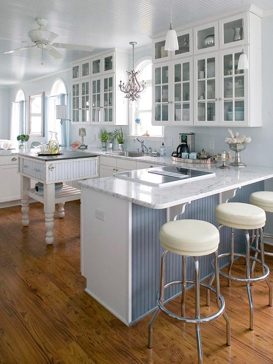 beliebte kücheninsel designs altmodisch idee blau