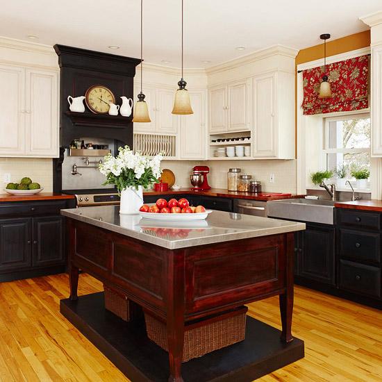 beliebte kücheninsel designs auf ein podest