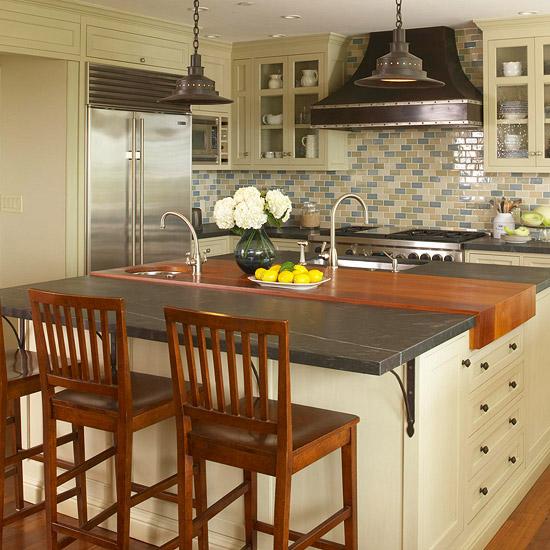 beliebte kücheninsel designs dreifach holz