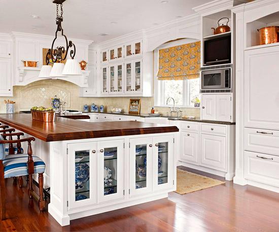 beliebte kücheninsel designs glanzvoll holz