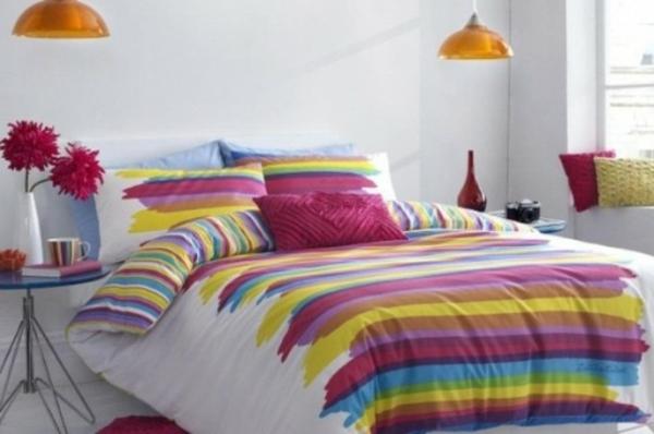 fr hlingsdeko im schlafzimmer 44 wundervolle ideen. Black Bedroom Furniture Sets. Home Design Ideas