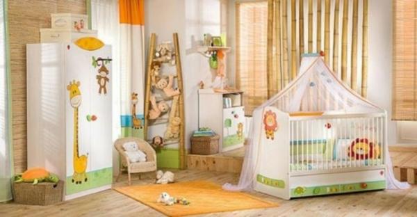 Lustige Dschungel Dekoration im Kinderzimmer – 15 schöne Beispiele | {Babyzimmer dekoration 50}