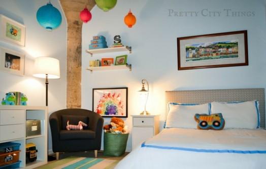 Kinderzimmer Junge Deko Dekoration Bild Idee