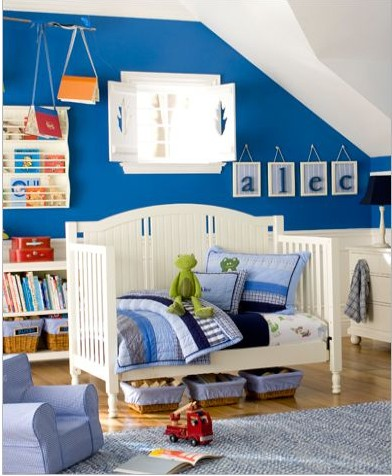15 coole kleinkinderzimmer ideen f r jungs. Black Bedroom Furniture Sets. Home Design Ideas