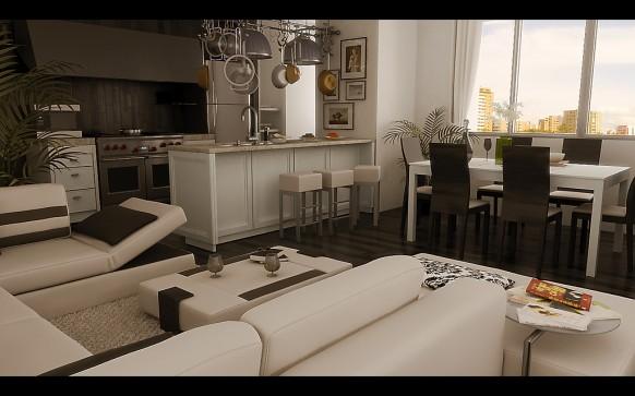 Esszimmer schwarz weiß braun  Kreative Ideen und Inspirationen für das Wohn- und Esszimmer