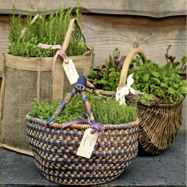 20 Great Herb Garden Ideas: Tolle Garten Designs Mit Dekoration Von Blumentöpfen