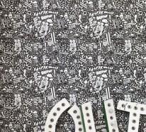 10 coole schwarz-weiße Tapeten für mehr Eleganz und Stil