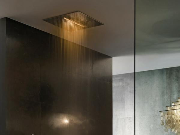 stilvolle dusche fantini rubinetti gelb erlebnis kopfbrause