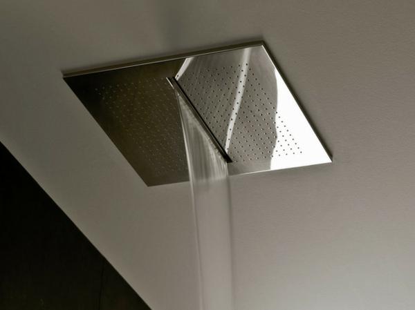 designer dusche fantini rubinetti wassefall erlebnis