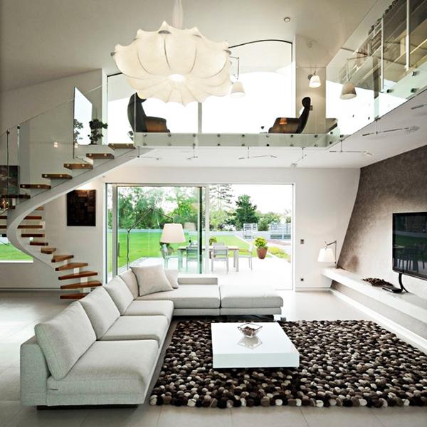 designer haus 04 projekt architektur ecksofa teppich