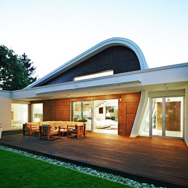designer haus 04 projekt architektur futuristische linien formen
