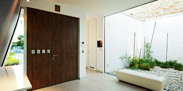 designer haus 04  projekt architektur holz türen