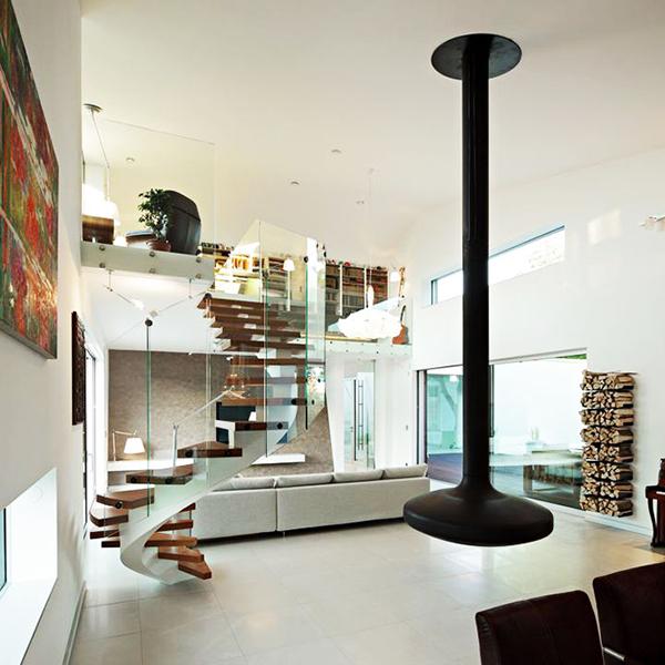 designer haus 04 projekt architektur treppe glas