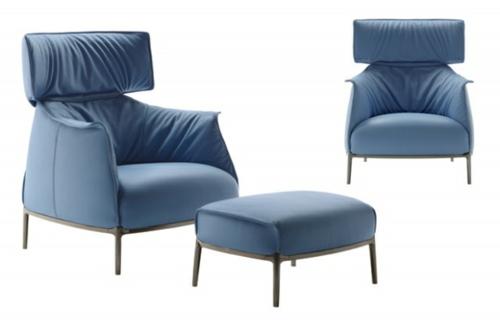 designer relax sessel archibald king poltrona frau