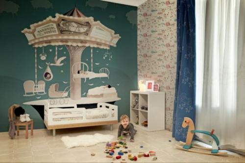 Designer Tapeten im Kinderzimmer - Kindertraumwelten