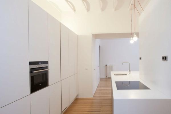 designer wohnung ortega y gasset haus durchgehende küche