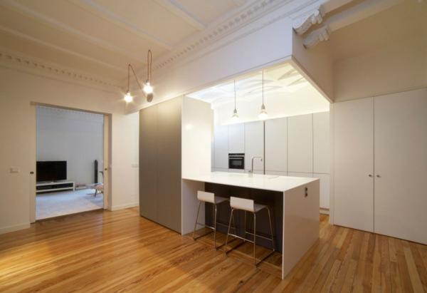 designer wohnung ortega y gasset haus küche weiß schlicht