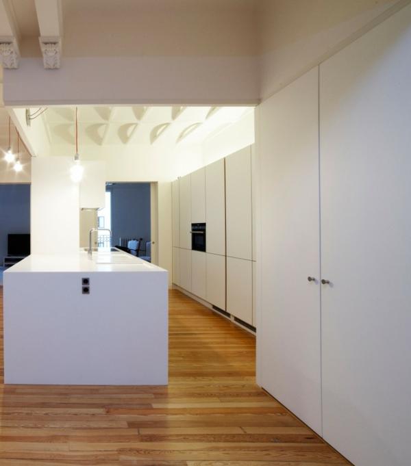designer wohnung ortega y gasset haus weiß kücheninsel