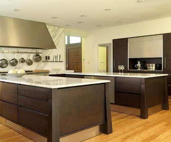 doppelte kücheninsel designs gut verkehrsstrom