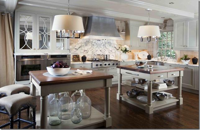 doppelte kücheninsel designs ideen originell