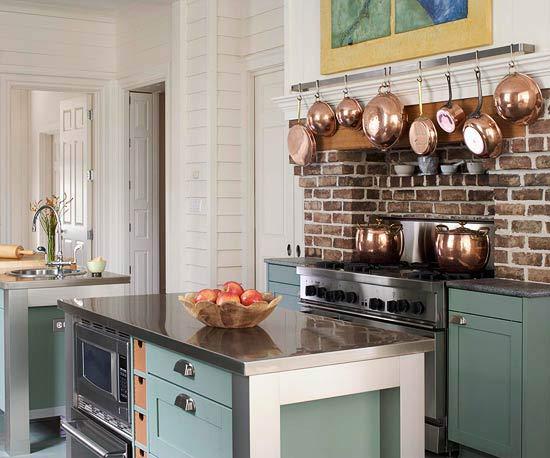 doppelte kücheninsel designs platzsparer