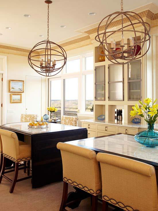 doppelte kücheninsel designs verkehrsregelung