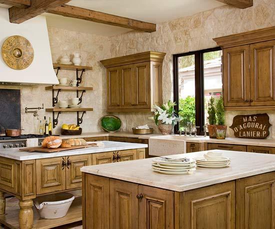 doppelte kücheninsel designs verschiedene farbe gleich funktion