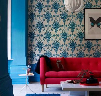 dreifarbige designs in rot wei und blau. Black Bedroom Furniture Sets. Home Design Ideas