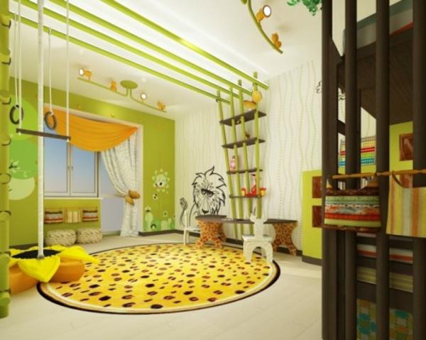 Lustige dschungel dekoration im kinderzimmer 15 sch ne for Kinderzimmer dekoration