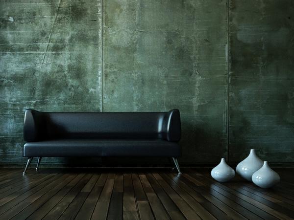 dunkel holz bodenbelag klassisch schwarz lederosa porzellan vasen deko motive
