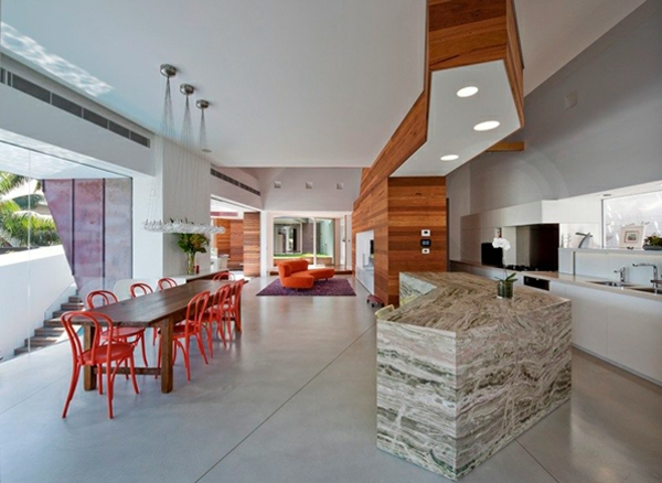 eckiges interieur design mck architects ideen