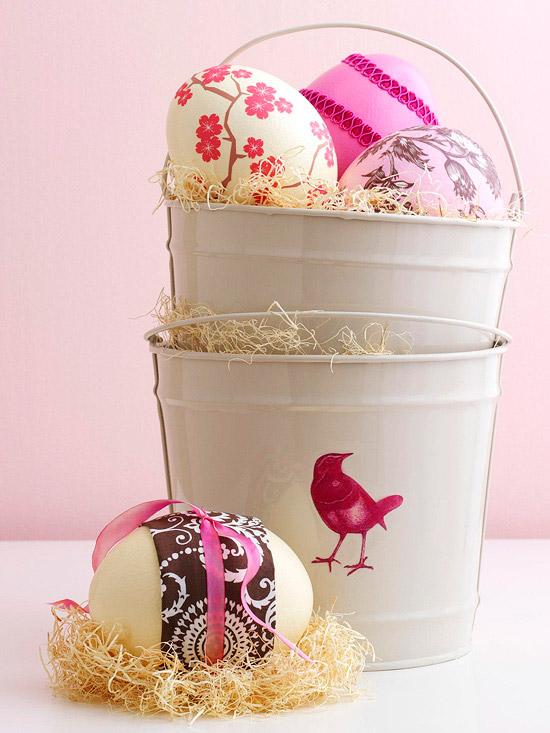 Deko ideen mit ostereiern 25 kreative und leichte vorschl ge - Eier dekorieren ...