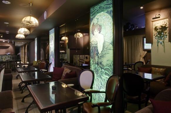einzigartig interieur designs im restaurant mythologie elemente