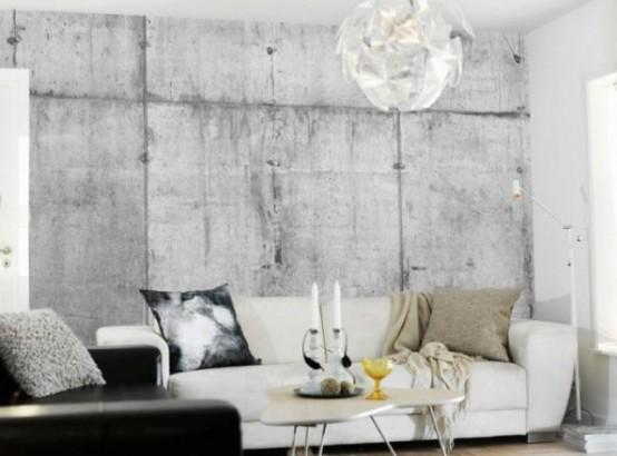 einzigartig kollektion von betontapeten kissen runder dekorativ tisch