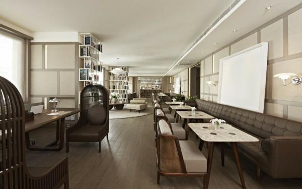 elegant hotel interior nisantasi house hotel holz möbel restaurant