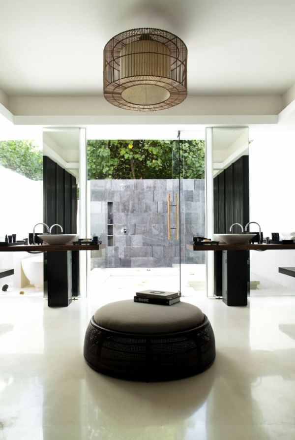 elegant innenausstattung badezimmer