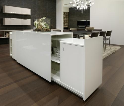 elegant küchen ausstattung weiß glanzvoll