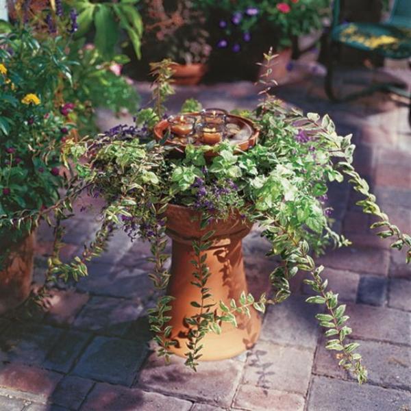 elegant klein verzierung grüne pflanzen