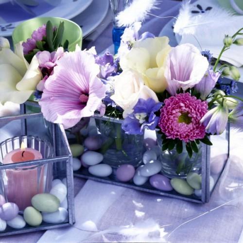 elegante Flintsteine Innen Außendekoration Vase Garten