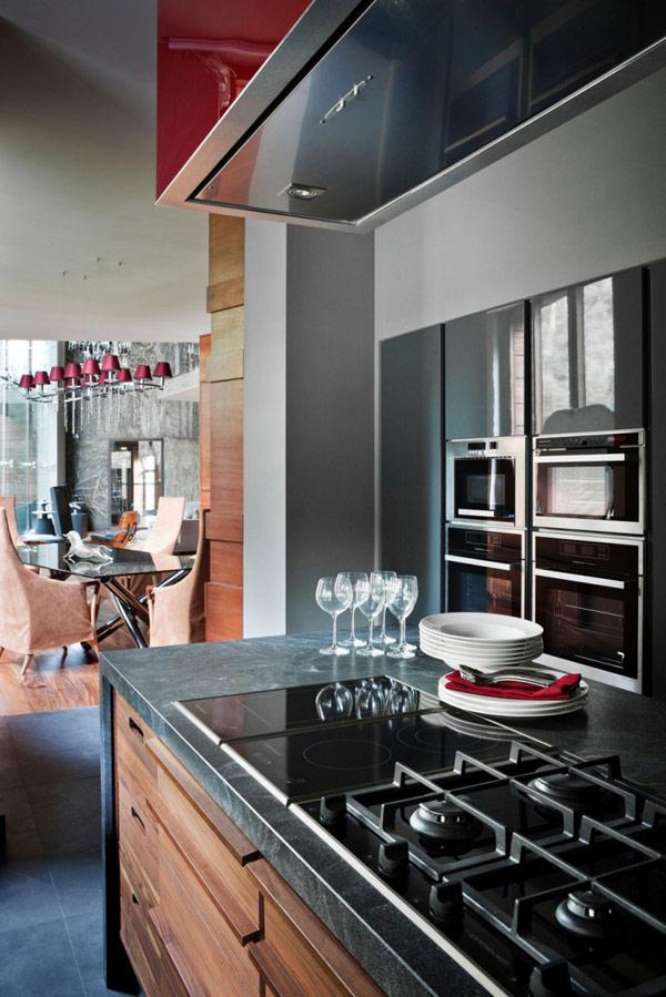 elegantes design persönlichkeit idee design küchenbereich