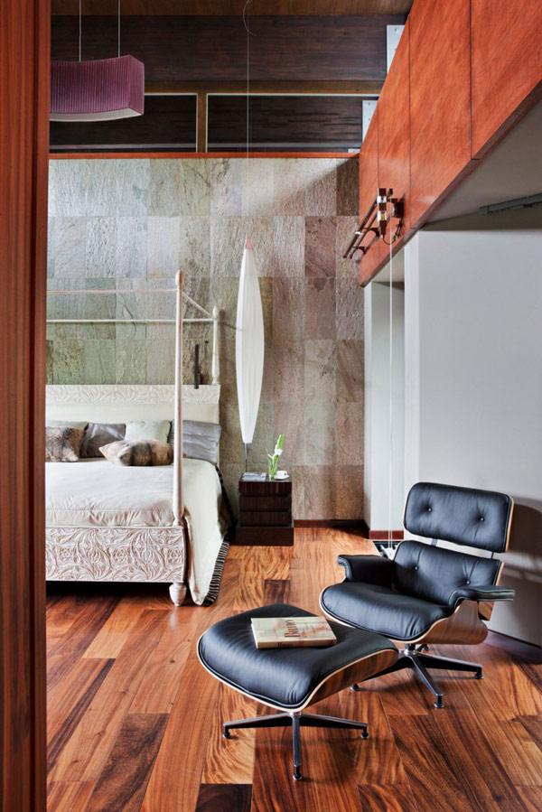 elegantes persönlichkeit Modernes Haus-Design   liege schlafzimmer