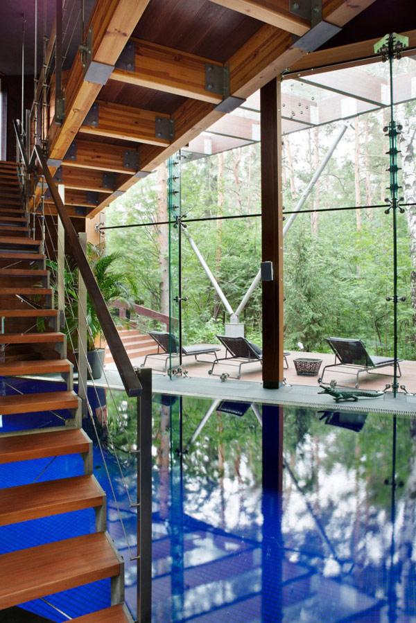Modernes Haus-Design persönlichkeit idee design treppe