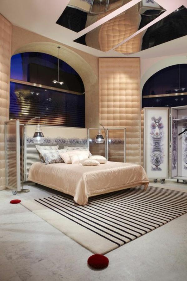 elegantes interieur design idee gualtier posltermöbel schlafzimmer