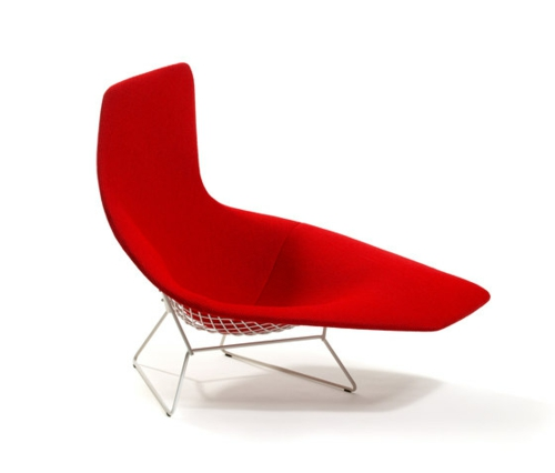 entspannung fauteuil modern bertoia collection knoll international