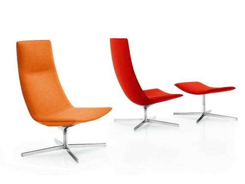 entspannung fauteuil modern catifa 70 arper