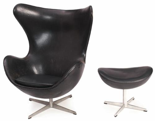 entspannung fauteuil modern egg fritz hansen